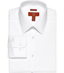 egara orange white extreme slim fit dress shirt