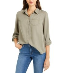 style & co one-pocket shirt, created for macy's