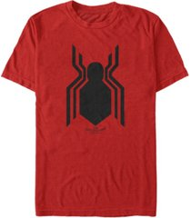 marvel men's spider-man homecoming spider-man logo short sleeve t-shirt