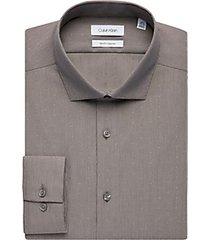 calvin klein caffe stripe slim fit dress shirt