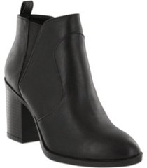mia halle-d booties women's shoes
