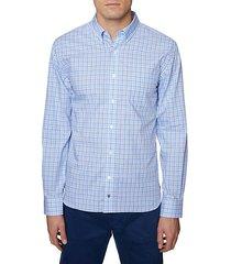 regular-fit plaid shirt