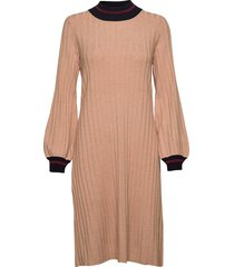 jaqueline knit dress knälång klänning rosa morris lady