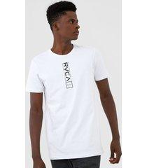 camiseta rvca all out branca - branco - masculino - dafiti