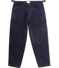 oliver spencer judo pants - cord navy osmt49b