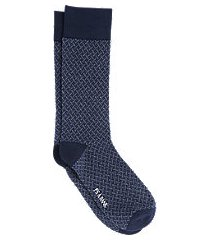 jos. a. bank woven pattern socks, 1-pair