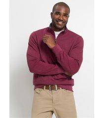 sweater met opstaande kraag