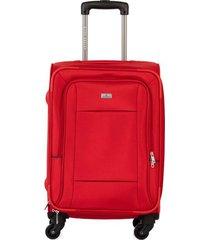maleta de viaje pequeña en lona con cuatro ruedas giratorias 93173