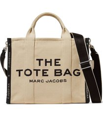 marc jacobs small travel tote bag - neutrals
