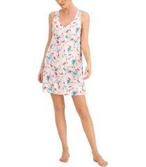 alfani v-neck sleeveless nightgown, created for macy's