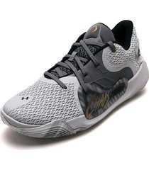 tenis basketball gris under armour spawn 2