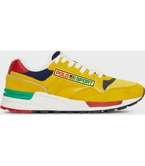 polo ralph lauren athletic sneakers sneakers chrome