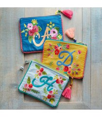 sundance catalog women's in bloom personalized pouch