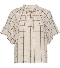 devapw bl blouses short-sleeved creme part two