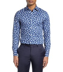 men's bonobos slim fit floral dress shirt