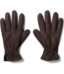 men's filson original deer work gloves, size x-large - brown
