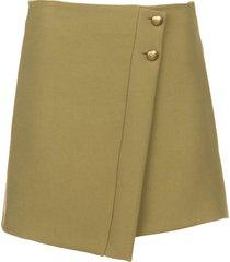 rok met knopen janna  groen