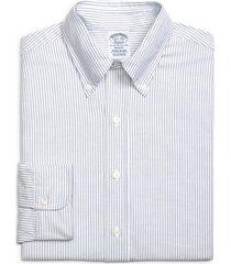 men's big & tall brooks brothers regent regular fit stripe dress shirt