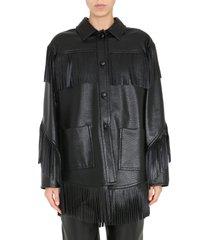 philosophy di lorenzo serafini fringed jacket