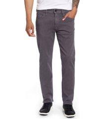 men's 34 heritage courage straight leg jeans, size 42 x 34 - grey