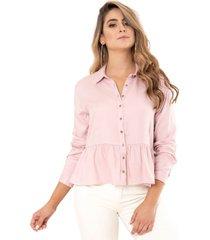 camisa atilya rosa ragged pf11112228