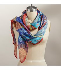 calico kaleidoscope scarf