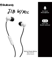 audifonos marca skullcandy modelo jib white.