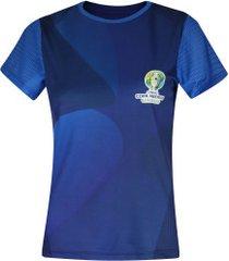 camiseta copa américa 2019 torcida - feminina - azul escuro