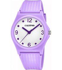 reloj mujer k5743/2 morado calypso