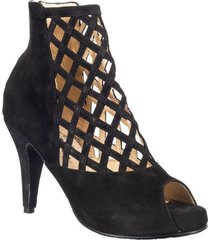 botin formal para dama san polos at-143 negro