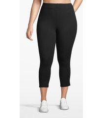 lane bryant women's active essential capri legging 14/16 black