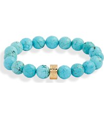 nest jewelry beaded stretch bracelet in turquoise at nordstrom