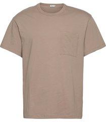m. brad t-shirt t-shirts short-sleeved beige filippa k