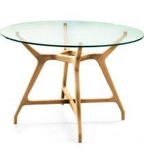 mesa de jantar redonda mecan