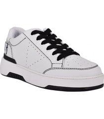 zapatilla footwear gwmarvyn-a whill blanco guess