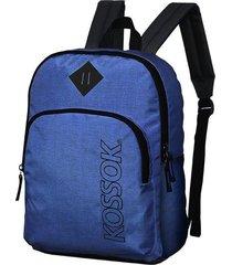 mochila azul kossok nazca