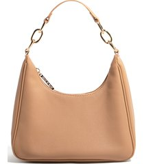 house of want newbie vegan leather shoulder bag - beige