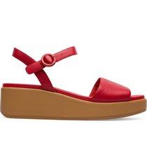 camper misia, sandali donna, rosso , misura 41 (eu), k200564-022