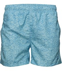 full bloom outline swim shorts c.f. badshorts grön gant