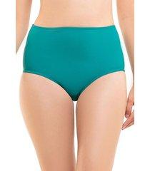 bikini calzón pin up clásico verde samia