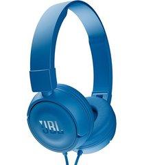 audífonos marca jbl t450  blue -