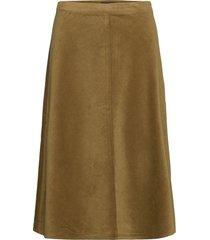 slilia skirt knälång kjol grön soaked in luxury
