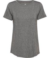 easy crew t-shirts & tops short-sleeved grå hollister