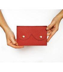 portfel czerwony ciemny