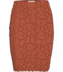 skirt kort kjol orange rosemunde