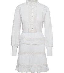 colette dress kort klänning vit love lolita