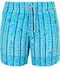 pantaloneta azul steam swimming pool