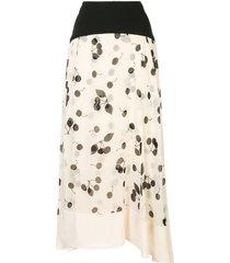 3.1 phillip lim cerise maxi skirt - neutrals