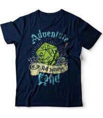 camiseta adventure land - unissex
