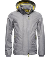 superdry men's tech hood pop zip sd-windcheater jacket